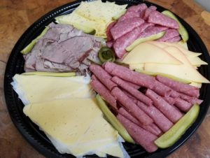 The Old Dutch store - meat and cheese platter (Old Duch Store)
