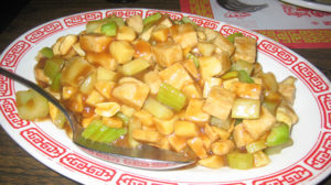 Long Life Vegi House - kung pao chicken
