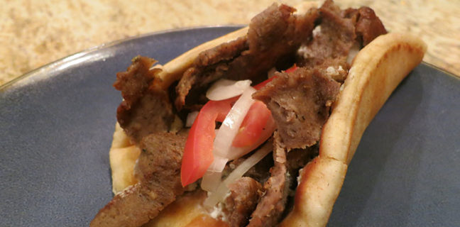 Mad Greek - gyro