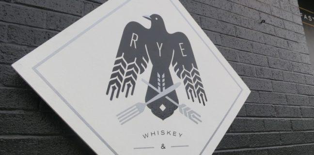 rye whiskey and waffles logo