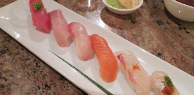 Naked Fish Japanese Bistro restaurant menu
