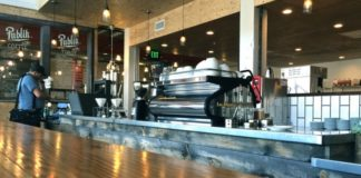 publik coffee roasters counter space