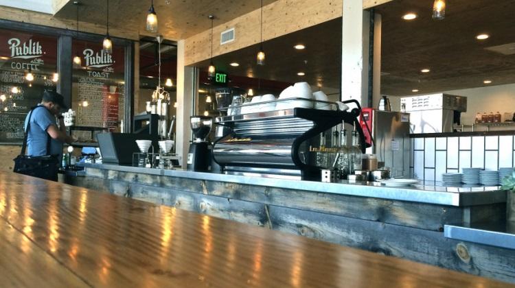 Publik Coffee Roasters menu