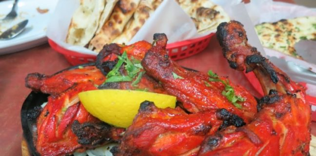 zabiha grill salt lake city tandoori chicken with naan