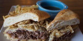sandwich from Francks Angel Cafe