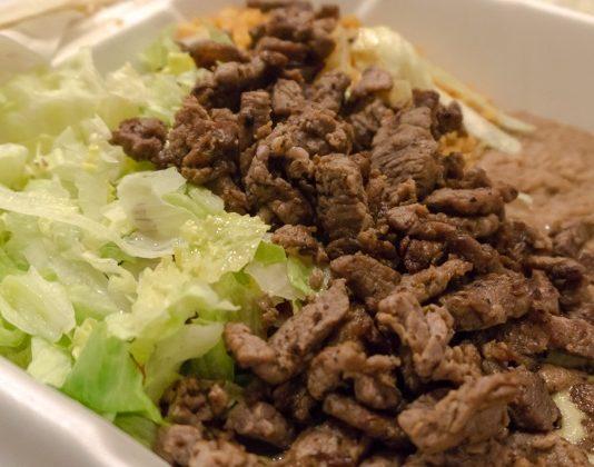 hectors mexican food carne asada plate