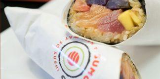 Sumoritto sushi burrito