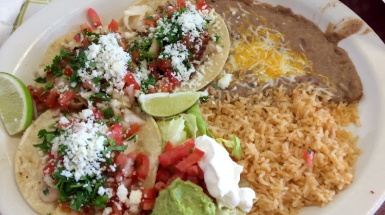 Nicos restaurant Tilapia fish tacos. Credit, Brett Ricley, Google Local Guide.