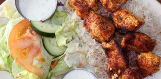 Afghan Kitchen - chicken kebab