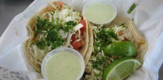 Lone Star Taqueria shrimp tacos
