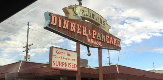 Coachmans Dinner And Pancake House exterior