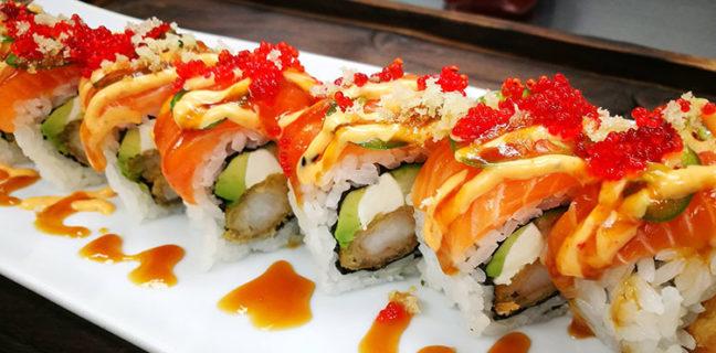 Sushi Stix - maki roll. Credit Sushi Stix