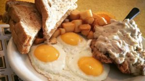 Blue Plate Diner - chicken fried steak. Credit Blue Plate Diner