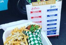 Falafel Tree - falafel and fries. Credit Amanda Rock
