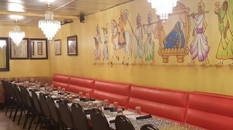 Tadka Indian Restaurant interior. Credit, Tadka