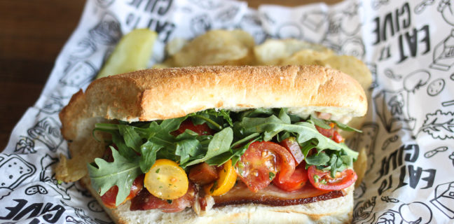 Even Stevens Sandwiches - PBLT special