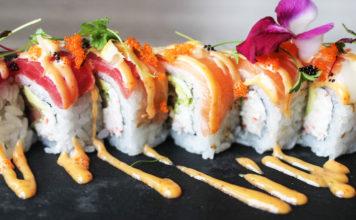 Chopfuku - sushi roll. Credit Chopfuku