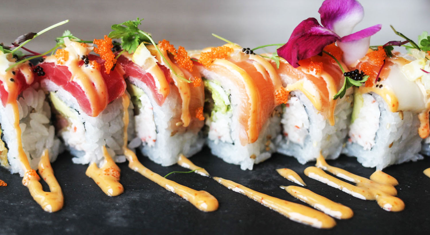 Chopfuku - sushi roll. Credit Chopfuku