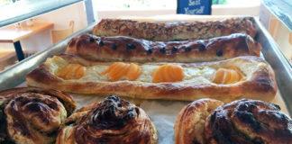 Finn's Cafe - fresh Danish pastries. Credit Finn's