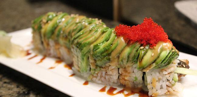 Itto Sushi - caterpillar roll
