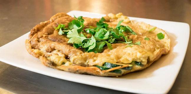 Chabaar - Thai fried egg. Credit Chabaar
