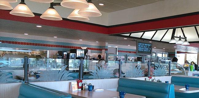 Dee's Family restaurant interior. Credit, Ben Wr Google