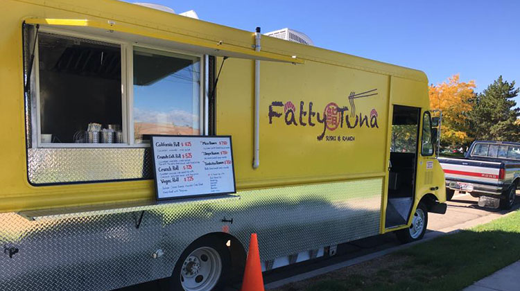 Fatty Tuna food truck menu