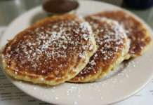 Lazy Day Cafe - lemon pancakes. Credit, Nicole Stephenson