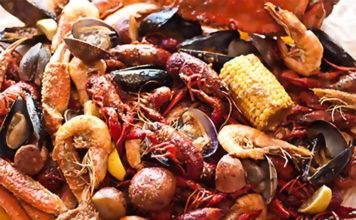 Bucket O Crawfish - seafood boil. Credit, BOC