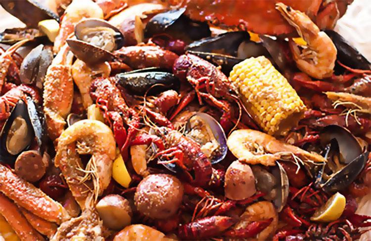 Bucket O Crawfish menu