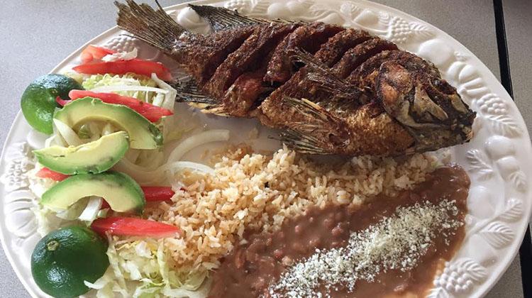 Julia's Mexican Food menu