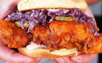 Pretty Bird - chicken sandwich - credit Pretty Bird