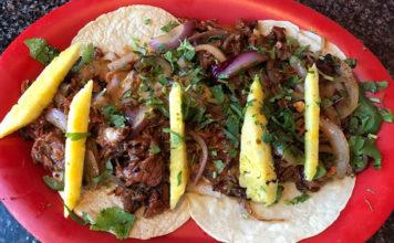 El Mexiquense Grill - Alambre Plate with Al Pastor meat (El Mexiquense)