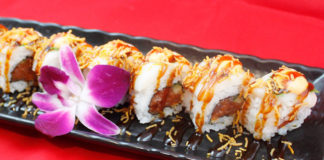 Hamachi - white dragon roll (Hamachi)