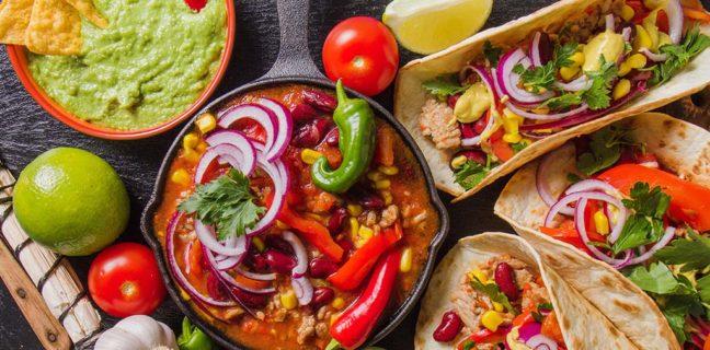 Generic Mexican food (Freepik)