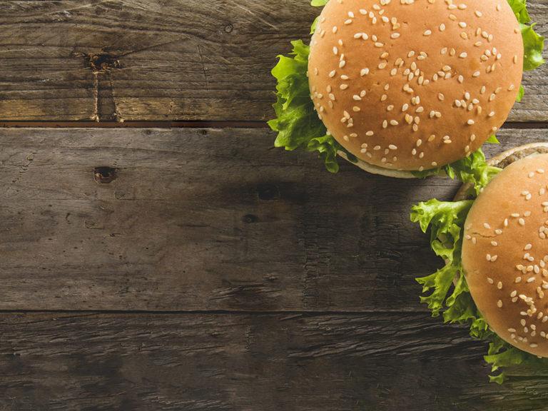 Flame Burger menu