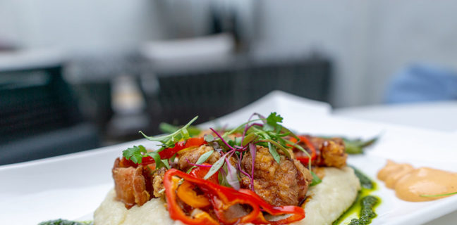 London Belle - miso fried chicken