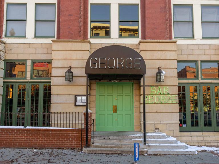 George restaurant menu
