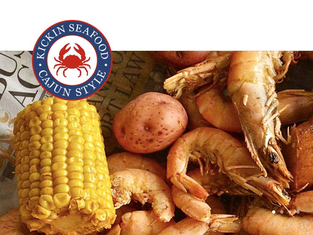Kickin Seafood logo (Kickin Seafood)