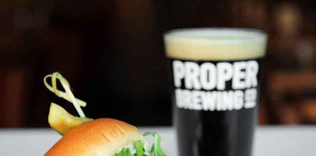 Stratford Proper - beer and burger (Stratford Proper)