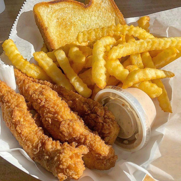 Mr. Charlie's Chicken Fingers menu