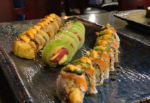 Kaze Sushi Bar And Grill - maki sushi rolls (Kaze)