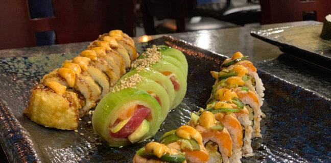 Kaze Sushi Bar And Grill - maki sushi rolls (Kaze)