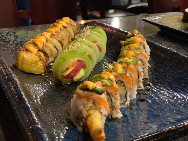 Kaze Sushi Bar And Grill menu