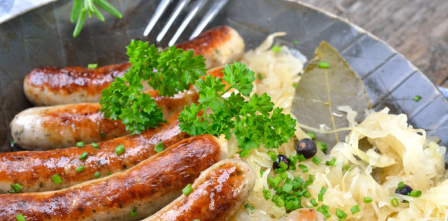 Bratwurst (Cafe Berlin)