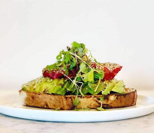 Cotton Kitchen - avocado toast (Cotton Kitchen)