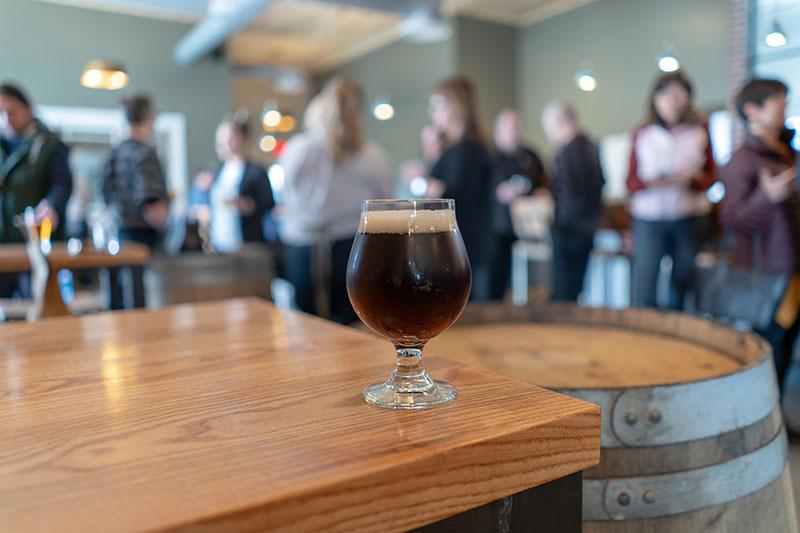 Level Crossing Brewing beer