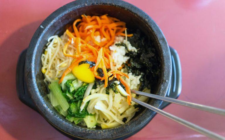 Baek Ri Hyang menu