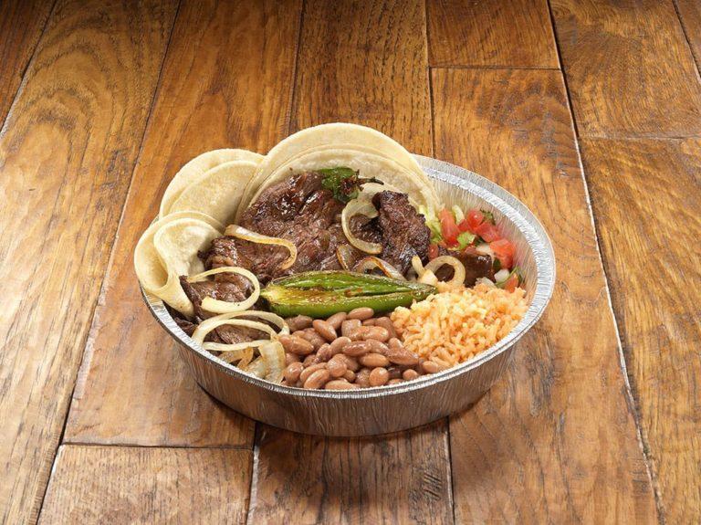 Hacienda Mexican Grill menu