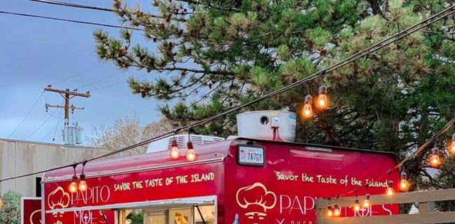 Papito Moe's food truck menu